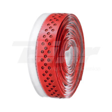 VELO CINTA PERFORADO MANILLAR ROJO/BLANCO ADHESIVO TAPE HOLES RED/WHITE