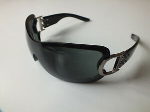 Christian Dior Sunglasses AIRSPEED 2 Oversized Black Tinted Shield