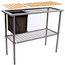 New listing Weatherguard Garden And Greenhouse Composite Wood Top Potting Bench / Table