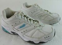 Avia Womens 7W Cantilever ZO2 Training Walking A6381WWLV Sneakers White Shoes