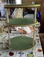 ANCIENNE TABLE SELLETTE TRAITEUR PATISSIER ANNÉE 50/60 VINTAGE diamètre 36cm