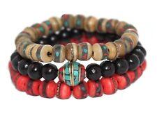Tibetan prayer beads healing bracelet Adjustable wrist mala yoga bracelet E2