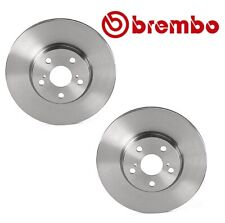 NEW For Scion Toyota Pair Set of 2 Front 275 mm Vented Disc Brake Rotors Brembo