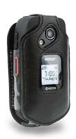 Kyocera DuraXE & DuraXV LTE Genuine Leather Swivel Belt Clip case E4710 & E4610