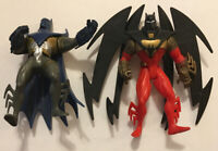Batman Action Figures: Knightquest And Knightsend - Kenner (Also, Steel)