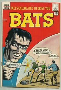 Tales Calculated to Drive you Bats #7 Archie Comics 1962 Last Issue