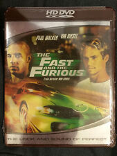 The Fast and the Furious (HD DVD, 2006) Paul Waker, Vin Diesel Widescreen