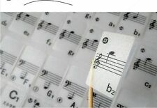 Piano Keyboard 61Keys 88Keys Stickers Music Decal Label Note Biginners Kid