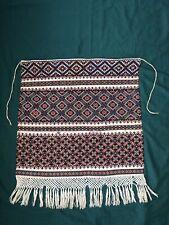 Beautiful Vintage folk Embroidered Ukrainian Apron Zapaska handmade (№147)