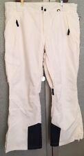Men's XL SLALOM White Ski Pants