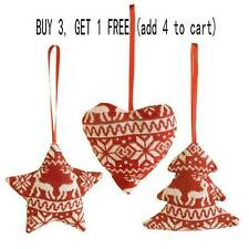 3 Styles Christmas Tree Decoration Xmas Holiday Party Hanging Ornament Decor