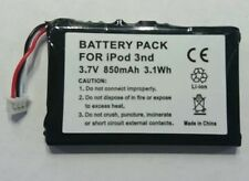 Replacement battery for Apple IPod Classic 3rd Generation