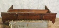 Ornate Antique Oak Sewing Machine Drawer For Restoration Re-Purpose Projects