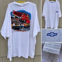 Vintage Chevrolet Pocket Tee T-Shirt Get Your Kicks In A Trick Fifty-Six 5XL