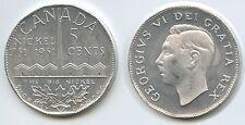 GY330 - Medaille The Big Nickel Kanada 5 Cents 1951 Sudbury Canada