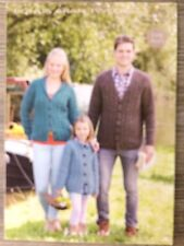 "Hayfield Knitting Pattern: Mens, Ladies, Childs Aran Cardigans, 24-46"", 9695"
