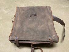 Original Wwi French M1878 M1915 Knapsack Field Back Pack-Tarred