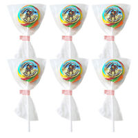 Party Bag Lollies PIRATE Fruit Flavour Lollipops x 6 Boys Lolly Pop