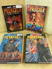 Lot of 4 Preacher 1-3 & 6 Hb Pb Comic/Graphic Novel Very Good condition