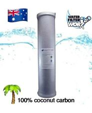 """5 MICRON ALL OF HOUSE BIG BLUE 100% COCONUT CARBON 20"""" x 4.5""""  FREE POST  ✅✅✅✅✅"""