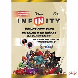 New Disney Infinity Game Power Disc Gold Pack Exclusive Blind Package Series 2
