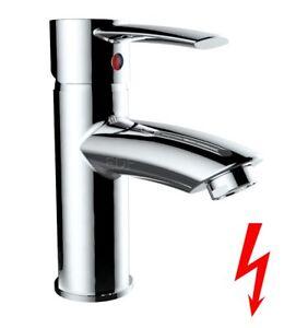 Waschtisch Niederdruck Einhebelmischer Bad Armatur Wasserhahn Chrom