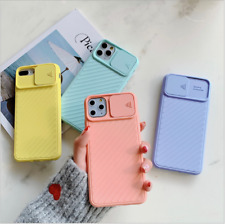 For iPhone 12 Mini Pro Max 11 XR 8 7 Bumper Shockproof Silicone Protective Cover
