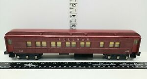 Vintage American Flyer #652 Heavyweight Pullman Coach Car Side Stamped