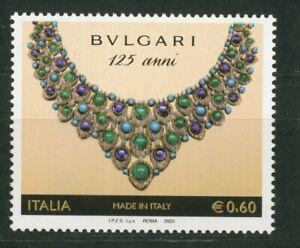 ITALIA 2009 - Made in Italy Bulgari - NUOVO MNH**