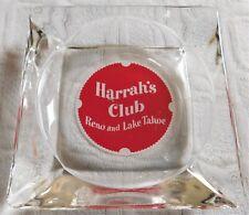 Harrah's Club Casino Reno And Lake Tahoe Square Ashtray