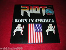 Riot - Born in America, ZYX Metal 45001 Vinyl LP 1983
