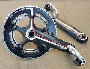 FSA carbon crankset with Look Keo 2 pedals