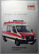 V13662 VOLKSWAGEN CRAFTER STROBEL AMBULANCE - CATALOGUE - 05/06 - A4 - D