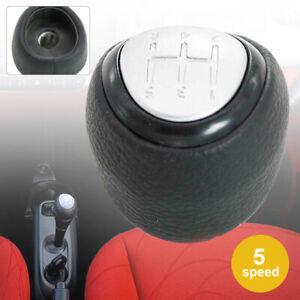 5 Speed PU Leather Gear Shift Knob Fit For SAAB 9-3 2003-2012 55566206 55353898