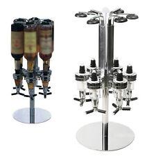 4/6 Bottle Wine Liquor Dispenser Wall Mount Stand Rack Beer Alcohol Holder Bar