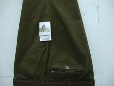 Pantalones de hombre verde 100% algodón