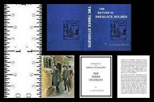1:12 MINIATURE BOOK SHERLOCK HOLMES THREE STUDENTS ILLUSTRATED