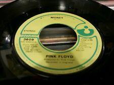 "Pink Floyd Money USA 7"" vinyl single record 3609 HARVEST 1973"