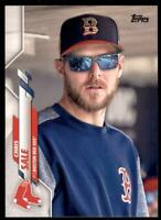 2020 Topps Series 2 Base Variation SP #672 Chris Sale - Boston Red Sox