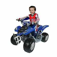 Yamaha 12 Volt Electric Raptor Quad Bike ATV Blue 700R Kids