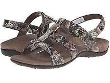 01d32c6c2b71 New VIONIC Women s Amber Adjustable Strap Sandal NAT SNAKE Size 10M NIB