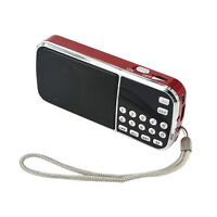 Portable HIFI Mini Multifunctional Digital MP3 Radio Speaker USB TF FM Radio BH