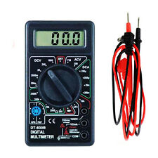 LCD Digital Multimeter Multitester AC DC Volt Tester Current Checker Ohm Gauge