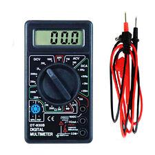 NEW Multimètre Digital AC DC Volt Ohm Amp Testeur Voltmètre Ohmmètre Ampèremètre