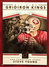 Steve Young 2017 Donruss  All Time  Gridiron Kings #34 ~~ 49ers 🏈🏈