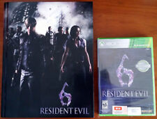 Xbox 360 - Resident Evil 6 (New) c/w Collector's Edition Strategy Guide