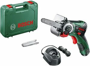 BOSCH Cordless Micro Nano Blade Chain Saw Chainsaw Easy Cut 12V 2.5Ah + Case Kit