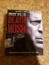 Death Wish (Blu-ray Disc, slipcover & case ONLY, 2018) - NO DIGITAL COPY or DVD