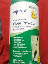 Equate - Fiber Powder, Clear Soluble, 125 Servings, 16.7 oz