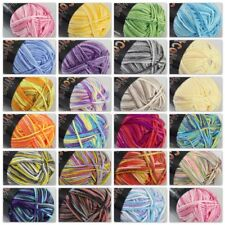 Sale 1ballx50g Soft Cotton Baby Yarn New Hand-dyed Colorful Socks Scarf Knitting